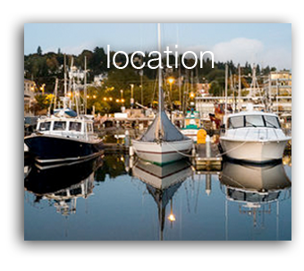 image - location | Bay Cafe Fisherman's Terminal, Seattle, WA