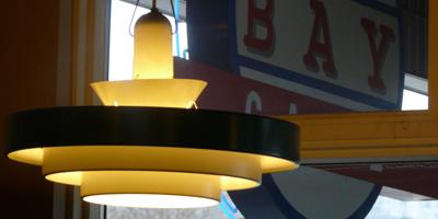Pendant Lamp | Bay Cafe at Fisherman's Terminal, Seattle WA